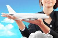 Самолет на ладонях